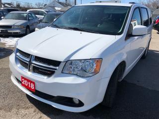 Used 2018 Dodge Grand Caravan Crew Plus for sale in Hamilton, ON