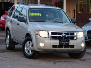 Used 2008 Ford Escape XLT, LEATHER,NO-ACCIDENTS,HEATDSEATS,ALLOYS,LOADED for sale in Mississauga, ON