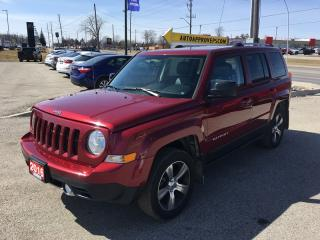 Used 2016 Jeep Patriot High Altitude *NAVI*LEATHER* Heated Seats - Driver AND PASS*FOG LIGHTS*SUNROOF* for sale in London, ON