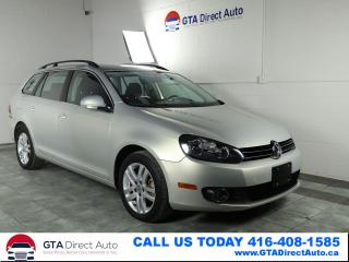 Used 2011 Volkswagen Golf Wagon Comfortline 6-Speed TDI Alloys Heated Certified for sale in Toronto, ON