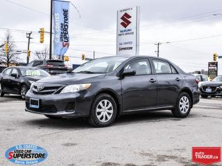 Used 2013 Toyota Corolla CE for sale in Barrie, ON