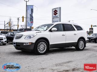 Used 2008 Buick Enclave CXL AWD ~7 Passenger ~DVD ~Heated Leather for sale in Barrie, ON
