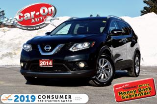 Used 2014 Nissan Rogue SL AWD LEATHER NAV SUNROOF REAR CAM LOADED for sale in Ottawa, ON