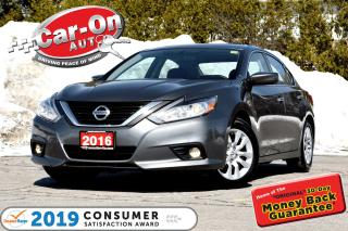 Used 2016 Nissan Altima 2.5S REAR CAM A/C BLUETOOTH LOADED for sale in Ottawa, ON