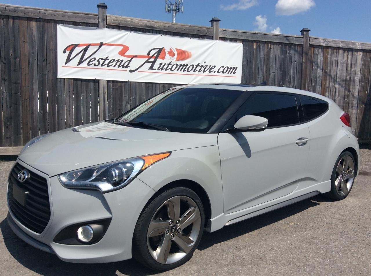 Used 2013 Hyundai Veloster Turbo W Matte Grey For Sale In