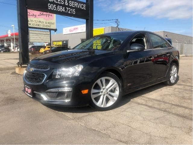 2015 Chevrolet Cruze LTZ | Htd Leather| Navigation |Sunroof