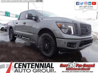 Used 2018 Nissan Titan 4x4 Crew Cab SL Midnight Edition for sale in Charlottetown, PE