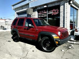 Used 2006 Jeep Liberty 4 portes - Sport 4X4 Automatique for sale in Longueuil, QC