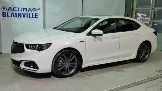 Used 2018 Acura TLX Élite A-Spec ** 4 cyl ** for sale in Blainville, QC