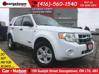 Used 2008 Ford Escape HYBRID | ONLY 66,083KMS | DUAL CLIMATE | PWR SEAT for sale in Georgetown, ON