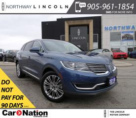 Used 2018 Lincoln MKX Reserve | NAV | 360° CAM | PANO ROOF | HTD LEATHER for sale in Brantford, ON