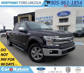 Used 2018 Ford F-150 Lariat | NAV | PWR HTD LEATHER | DIESEL | RWD | for sale in Brantford, ON