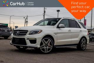 Used 2012 Mercedes-Benz ML-Class ML 63 AM|AWD|Navi|Pano Sunroof|DVD|Backup Cam|Bluetooth|Leather|21
