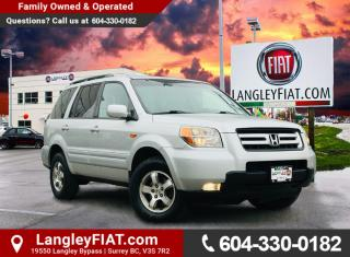 Used 2008 Honda Pilot SE Low KM's, Sunroof, Remote Start! No Accidents, B.C. Owned! for sale in Surrey, BC