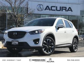 Used 2016 Mazda CX-5 GT AWD at Tech Pkg, Navi, Bose Audio for sale in Markham, ON
