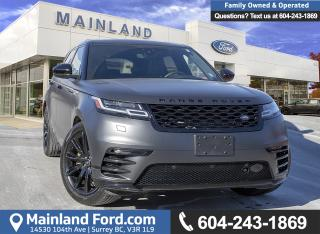 Used 2018 Land Rover RANGE ROVER VELAR P380 HSE R-Dynamic ACCIDENT FREE, LOCALLY DRIVEN for sale in Surrey, BC