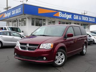 Used 2018 Dodge Grand Caravan Crew Edition, Navigation, Leather, Bluetooth for sale in Vancouver, BC