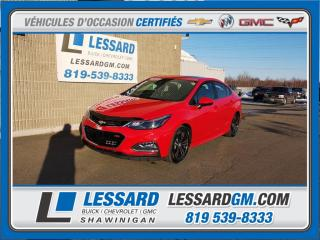 Used 2017 Chevrolet Cruze Lt, Rs, T.ouvrant for sale in Shawinigan, QC