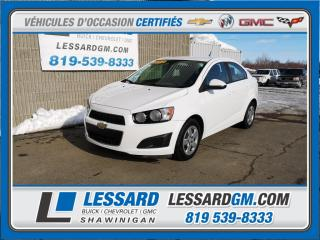 Used 2012 Chevrolet Sonic Ls, A/c , Entree for sale in Shawinigan, QC
