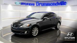 Used 2009 Lexus IS 250 AWD + 119 308KM + MAGS + CUIR + CRUISE + for sale in Drummondville, QC