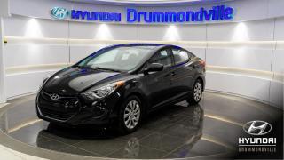 Used 2013 Hyundai Elantra GL + 73 895 KM + CRUISE + A/C + BLUETOOT for sale in Drummondville, QC