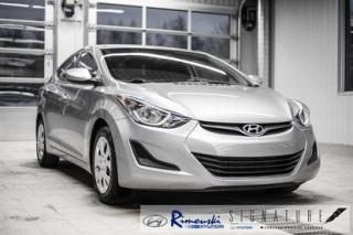 Used 2015 Hyundai Elantra GL CHEZ RIMOUSKI for sale in Rimouski, QC