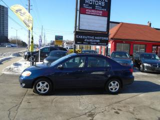 Used 2008 Toyota Corolla CE/ CERTIFIED / PWR GROUP / READY TO GO / CLEAN / for sale in Scarborough, ON
