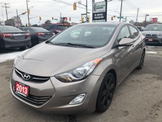 Used 2013 Hyundai Elantra Limited l Leather l No Accidents for sale in Waterloo, ON
