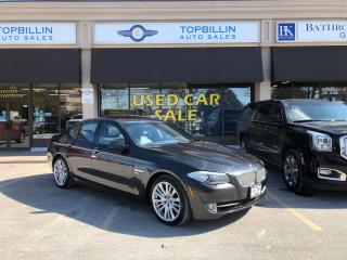 Used 2011 BMW 5 Series 550i xDrive for sale in Vaughan, ON