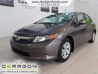 Used 2012 Honda Civic A/C for sale in Cowansville, QC