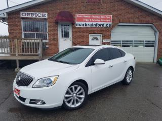 Used 2014 Buick Verano Heated Lthr Seats/S. Wheel Bluetooth Back up Cam for sale in Bowmanville, ON