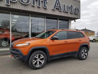 Used 2015 Jeep Cherokee Jeep Trailhawk, 4 portes, 4x4 ,4cyl for sale in Alma, QC