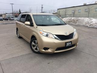 Used 2011 Toyota Sienna LE, 8 Pass, Camera, Power Door, 3/Y warranty avail for sale in Toronto, ON