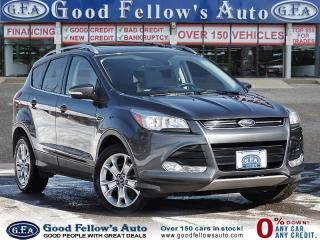 Used 2016 Ford Escape TITANIUM, LEATHER SEATS, NAVI, 4WD, POWER SEATS for sale in Toronto, ON