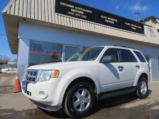 Used 2011 Ford Escape 4WD,6CYL,KROWN RUSTPROOFED,LEATHER,LOW KM, for sale in Mississauga, ON