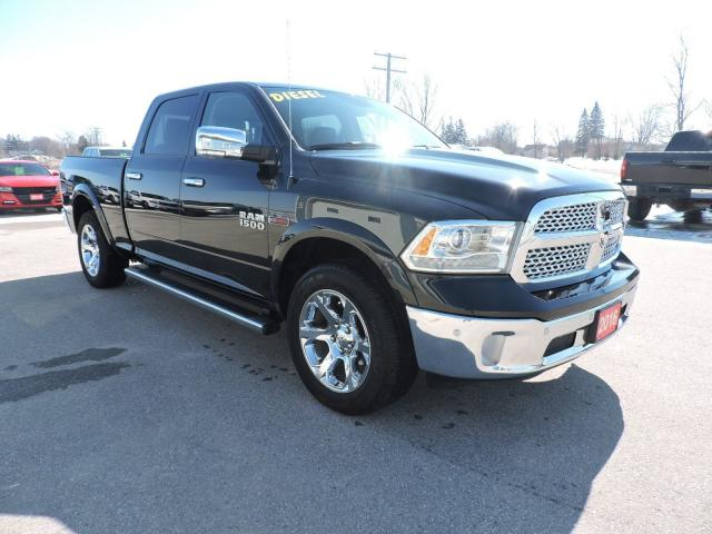 2016 RAM 1500 Laramie. Diesel. Air Suspension. Loaded