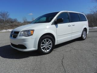 Used 2014 Dodge Grand Caravan SXT WITH STO & GO SEATING for sale in Brantford, ON