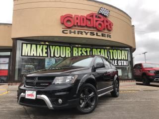 Used 2018 Dodge Journey Crossroad/NAVI/REAR CAM/KEYLESS GO/B-TOOTH/ for sale in Toronto, ON