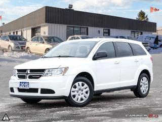 Used 2015 Dodge Journey Canada Value Pkg for sale in Barrie, ON