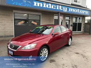 Used 2010 Lexus IS 250 LOW KMs/ AWD/ Sunroof/ Leather/ Heated seats for sale in Niagara Falls, ON