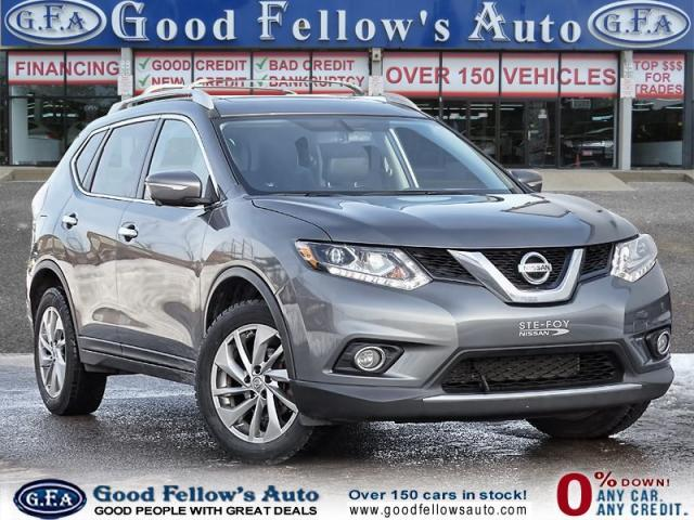 2015 Nissan Rogue SL MODEL, LEATHER SEATS, PANORAMIC ROOF,NAVIGATION