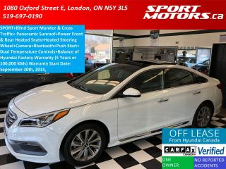 Used 2015 Hyundai Sonata Sport+Panoramic Roof+Blind Spot+Camera+Heated Seat for sale in London, ON