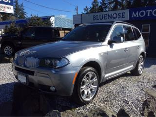 Used 2008 BMW X3 3.0Si for sale in Parksville, BC