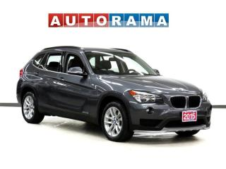Used 2015 BMW X1 xDrive28i NAVIGATION LEATHER SUNROOF AWD for sale in Toronto, ON