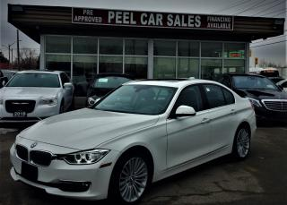 Used 2014 BMW 3 Series 328XDRIVE|LUXURY|SUNROOF|HIDLIGHTS for sale in Mississauga, ON