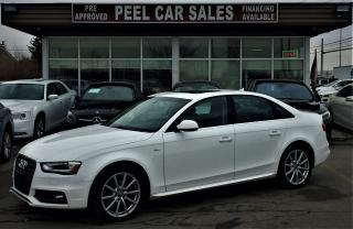 Used 2015 Audi A4 S LINE|PROGRESSIVE|NAVI|SUNROOF for sale in Mississauga, ON