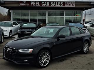 Used 2015 Audi A4 S LINE|KOMFORT+|SUNROOF|LEATHER for sale in Mississauga, ON
