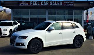 Used 2016 Audi Q5 PROGRESSIVE|NAVI|HIDLIGHTS|PANOROOF for sale in Mississauga, ON