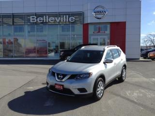 Used 2015 Nissan Rogue S 1 OWNER LOCAL TRADE for sale in Belleville, ON