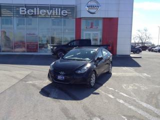 Used 2011 Hyundai Elantra GL LOCAL TRADE LOW KMS for sale in Belleville, ON